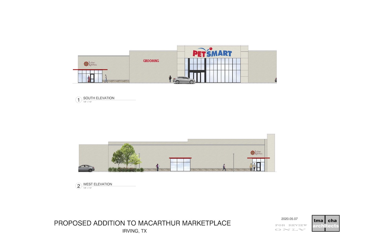 Architect for Retail Center
