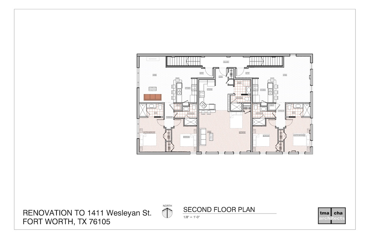 Plans for 1411 Wesleyan