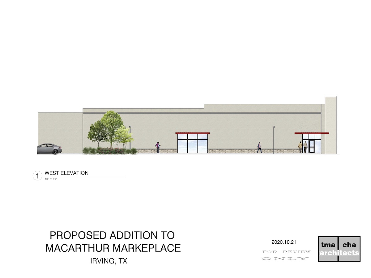 Design for Shopping Center Addition