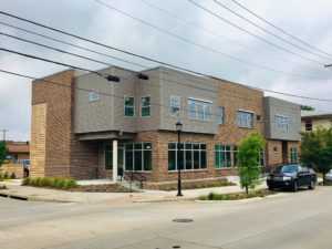 Mixed-use building in Near Southside