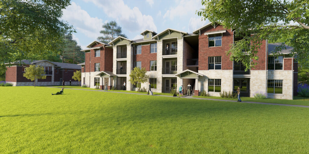 Rendering of The Bungalows